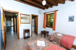 Спальня 2. Кипр, Милиу : Очаровательная вилла с 2 спальнями с для 4-ти гостей с бассейном и садом
