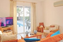 Гостиная. Кипр, Аргака : Очаровательная вилла с 3 спальнями с для 6-ти гостей с бассейном и садом