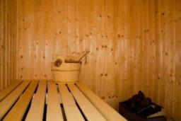 Сауна. Кипр, Друсхия : Роскошная вилла с видом на море, с 4-мя спальнями, с бассейном, сауной и джакузи, расположена на краю красивого национального парка Akamas