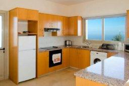 Кухня. Кипр, Друсхия : Великолепная вилла с видом на море, с 4-мя спальнями, с бассейном, сауной и джакузи, расположена на краю красивого национального парка Akamas