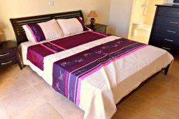 Спальня. Кипр, Хлорака : Комфортабельная вилла с 3-мя спальнями, с бассейном, тенистой террасой с патио и барбекю