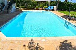 Бассейн. Кипр, Лачи : Прекрасная вилла с видом на море, в окружение ландшафтного сада, с 3-мя спальнями, с бассейном, тенистой террасой с патио и барбекю