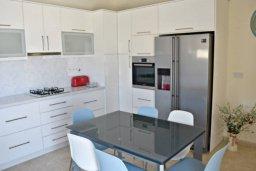 Кухня. Кипр, Аргака : Шикарная вилла с удивительным непрерывным видом на море и горы, с 3-мя спальнями, с бассейном, уютным двориком с патио, барбекю и с большой меблированной террасой на крыше с бильярдом