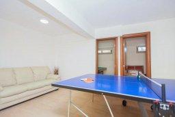 Развлечения и отдых на вилле. Кипр, Аргака : Шикарная вилла с 4-мя спальнями, с бассейном и джакузи, красивым ландшафтным садом, патио, барбекю, настольным теннисом теннисом и бильярдом