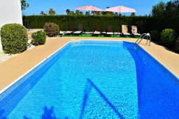 Бассейн. Кипр, Полис город : Прекрасная вилла с панорамным видом на море, с 3-мя спальнями, с бассейном, приватным двориком с патио и барбекю