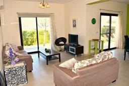 Гостиная. Кипр, Полис город : Прекрасная вилла с панорамным видом на море, с 3-мя спальнями, с бассейном, приватным двориком с патио и барбекю