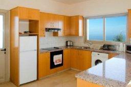 Кухня. Кипр, Друсхия : Потрясающая вилла с видом на море, с 4-мя спальнями, с бассейном, сауной и джакузи, расположена на краю красивого национального парка Akamas