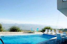 Бассейн. Кипр, Друсхия : Потрясающая вилла с видом на море, с 4-мя спальнями, с бассейном, сауной и джакузи, расположена на краю красивого национального парка Akamas