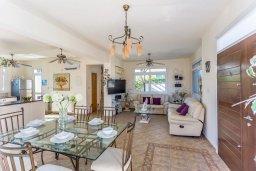 Гостиная. Кипр, Фиг Три Бэй Протарас : Прекрасная вилла с бассейном и зеленым двориком, 3 спальни, 2 ванные комнаты, патио, барбекю, парковка, Wi-Fi