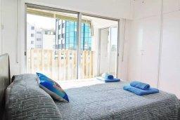 Спальня 3. Кипр, Ларнака город : Современный апартамент в 10 минутах ходьбы от центральной набережной, с гостиной,  тремя спальнями и балконом