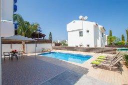 Бассейн. Кипр, Каво Марис Протарас : Уютная вилла с бассейном недалеко от пляжа, 3 спальни, 2 ванные комнаты, парковка, Wi-Fi