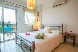 Спальня. Кипр, Каппарис : Роскошный апартамент с 2-мя спальнями, с бассейном и приватным двориком с патио