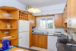 Кухня. Кипр, Каво Марис Протарас : Уютная вилла с бассейном и двориком с барбекю, 3 спальни, 2 ванные комнаты, парковка, Wi-Fi
