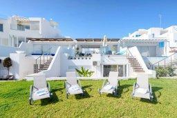 Территория. Кипр, Фиг Три Бэй Протарас : Роскошная современная вилла с бассейном и зеленой лужайкой недалеко от пляжа, 2 гостиные, 4 спальни, 5 ванных комнат, внутренний дворик, барбекю, патио, парковка, Wi-Fi