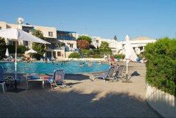 Бассейн. Кипр, Мутаяка Лимассол : Прекрасный апартамент в комплексе с бассейном, с гостиной, двумя спальнями и большим бассейном
