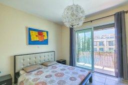 Спальня. Кипр, Гермасойя Лимассол : Таунхаус в комплексе с бассейном, с гостиной, двумя спальнями, двумя ванными комнатами и балконом