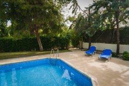 Бассейн. Кипр, Лачи : Прекрасная вилла с бассейном в 100 метрах от пляжа, 3 спальни, 2 ванные комнаты, зеленый дворик, барбекю, парковка, Wi-Fi