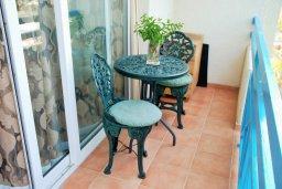 Балкон. Кипр, Гермасойя Лимассол : Студия в комплексе с бассейном в 100 метрах от пляжа