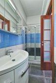 Ванная комната. Кипр, Пареклисия : Современная вилла с бассейном и двориком с барбекю, 4 спальни, 3 ванные комнаты, патио, парковка, Wi-Fi