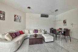 Гостиная. Кипр, Св. Рафаэль Лимассол : Прекрасная вилла с бассейном и зеленым двориком с барбекю, 3 спальни, 3 ванные комнаты, патио, парковка, Wi-Fi