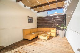 Патио. Кипр, Каппарис : Прекрасная вилла с бассейном, детской площадкой и патио, 2 спальни, парковка, Wi-Fi