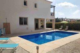 Фасад дома. Кипр, Пейя : Вилла с бассейном и двориком с барбекю, 3 спальни, 2 ванные комнаты, парковка, Wi-Fi