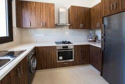 Кухня. Кипр, Хлорака : Современная вилла с бассейном и двориком с барбекю, 3 спальни, 2 ванные комнаты, парковка, Wi-Fi