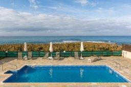 Бассейн. Кипр, Корал Бэй : Роскошная вилла в 60 метрах от пляжа и с шикарным видом на море, 3 спальни, 3 ванные комнаты, барбекю, парковка, Wi-Fi