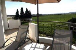 Балкон. Кипр, Декелия - Пила : Апартамент в комплексе с бассейном, с гостиной, двумя спальнями и большим балконом