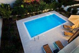 Бассейн. Кипр, Хлорака : Роскошная вилла в 100 метрах от пляжа, с бассейном и двориком с барбекю, 3 спальни, 3 ванные комнаты, парковка, Wi-Fi