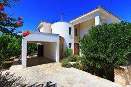 Фасад дома. Кипр, Друсхия : Прекрасная вилла с бассейном и приватным двориком, 3 спальни, 3 ванные комнаты, парковка, Wi-Fi