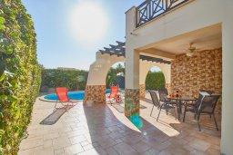 Территория. Кипр, Пейя : Прекрасная вилла с бассейном и приватным двориком, 3 спальни, 2 ванные комнаты, парковка, Wi-Fi