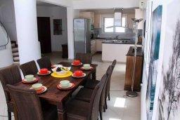 Кухня. Кипр, Хлорака : Роскошная вилла с бассейном и видом на море, 50 метров до пляжа, 6 спален, 4 ванные комнаты, парковка, Wi-Fi