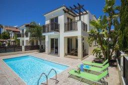 Фасад дома. Кипр, Санрайз Протарас : Прекрасная вилла с бассейном и двориком с барбекю, 2 спальни, 2 ванные комнаты, парковка, Wi-Fi