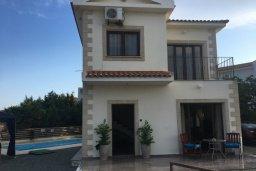 Фасад дома. Кипр, Ионион - Айя Текла : Уютная вилла с бассейном приватным двориком с барбекю, 2 спальни, парковка, Wi-Fi
