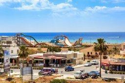 Территория. Кипр, Центр Айя Напы : Студия в комплексе с бассейном, с кондиционером, плазменным телевизором и балконом