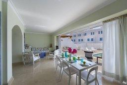 Гостиная. Кипр, Фиг Три Бэй Протарас : Уютная вилла с бассейном и патио, 2 спальни, 3 ванные комнаты, барбекю, парковка, Wi-Fi