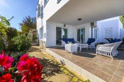 Патио. Кипр, Фиг Три Бэй Протарас : Прекрасная вилла с зеленым двориком, патио и барбекю, 5 спален, 2 ванные комнаты, парковка, Wi-Fi