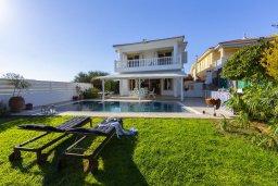 Кипр, Каппарис : Роскошная современная вилла с панорамным видом на море, с 5 спальнями, с бассейном, тенистой террасой с патио и барбекю, расположена на побережье Протараса