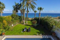 Территория. Кипр, Каппарис : Роскошная современная вилла с панорамным видом на море, с 5 спальнями, с бассейном, тенистой террасой с патио и барбекю, расположена на побережье Протараса