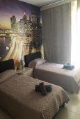Спальня 2. Кипр, Полис город : Современный апартамент с гостиной, двумя спальнями и балконом