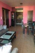 Гостиная. Кипр, Лачи : Современный апартамент с гостиной, двумя спальнями и балконом