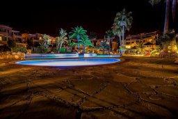 Территория. Кипр, Пафос город : Апартамент в комплексе с 2-мя бассейнами и зеленой территорией, с гостиной, отдельной спальней и балконом