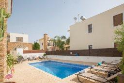 Бассейн. Кипр, Ионион - Айя Текла : Прекрасная виллы в 100 метрах от пляжа, с бассейном и приватным двориком с барбекю, 4 спальни, 5 ванных комнат, парковка, Wi-Fi