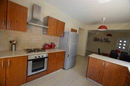 Кухня. Кипр, Нисси Бич : Прекрасная вилла с бассейном и двориком с барбекю, 3 спальни, парковка, Wi-Fi