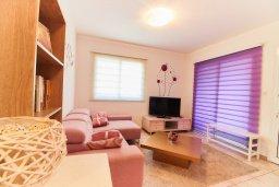 Гостиная. Кипр, Пафос город : Апартамент в комплексе с бассейном, гостиная, 3 спальни, 2 ванные комнаты, терраса