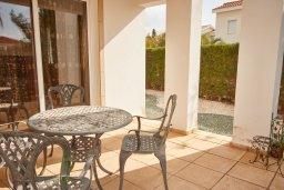 Терраса. Кипр, Корал Бэй : Прекрасная вилла с бассейном и зеленым двориком, 3 спальни, 2 ванные комнаты, барбекю, парковка, Wi-Fi