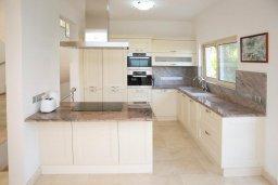 Кухня. Кипр, Лачи : Современная вилла в 50 метрах от пляжа с бассейном и зеленым двориком, 4 спальни, 3 ванные комнаты, сауна, парковка, Wi-Fi