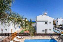 Фасад дома. Кипр, Каво Марис Протарас : Прекрасная вилла с бассейном и двориком с барбекю, 3 спальни, 2 ванные комнаты, парковка, Wi-Fi
