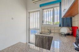 Кухня. Кипр, Декелия - Ороклини : Студия с кондиционером и плазменным телевизором в 200 метрах от пляжа